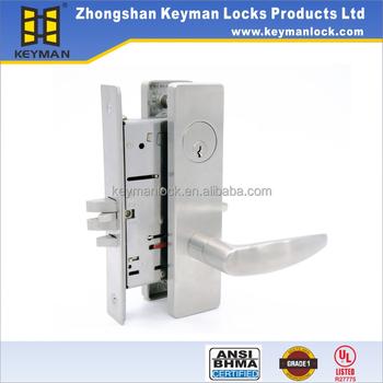 ANSI Grading 1 Lever Mortise Entry Door Lock