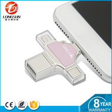 High-end Prata 64 GB iDiskk memory sticks usb 1 gb