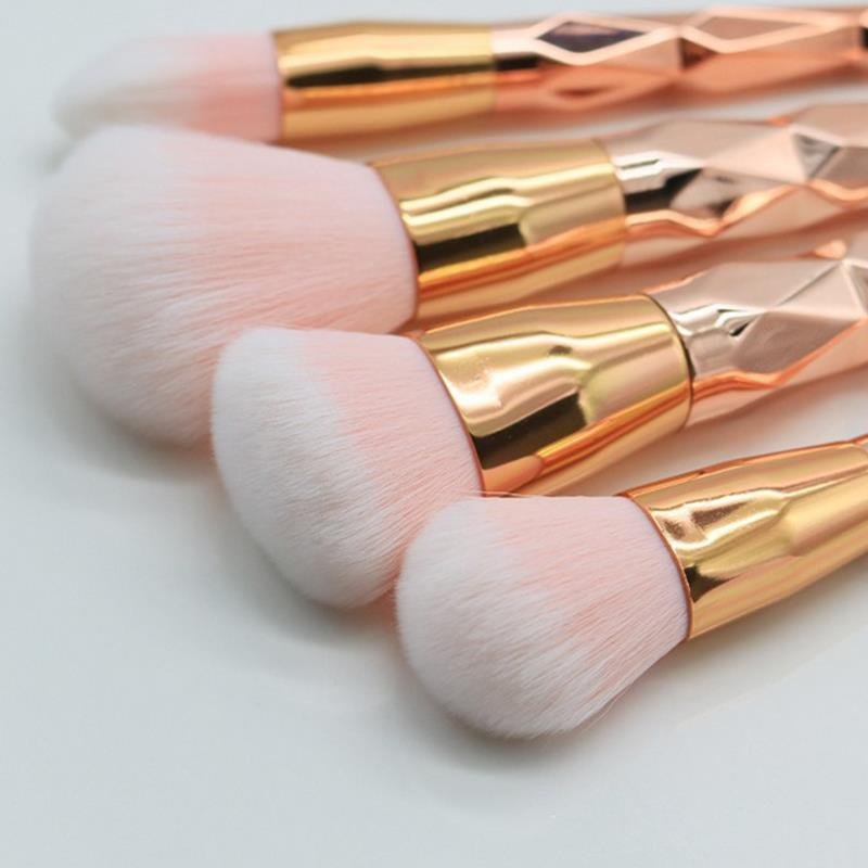 7 pcs makeup <strong>brushes</strong> private label makeup <strong>brush</strong> set sample toothbrush