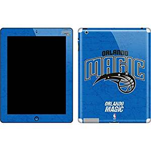 NBA Orlando Magic New iPad Skin - Orlando Magic Blue Primary Logo Vinyl Decal Skin For Your New iPad