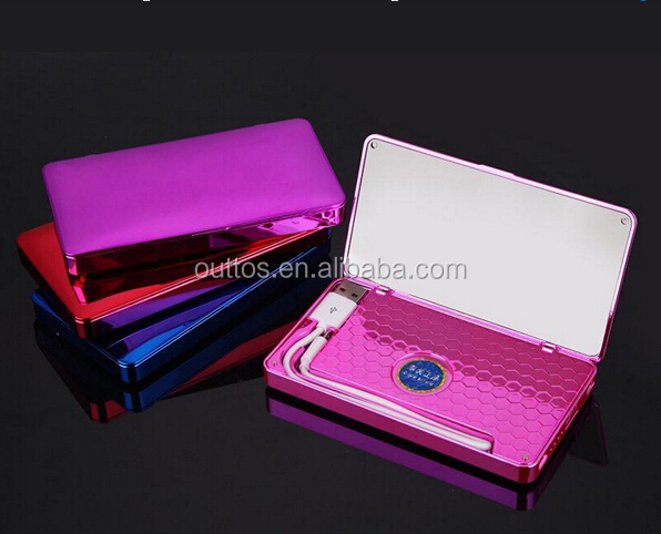 new mirror power banks ,portable charger power bank with mirror