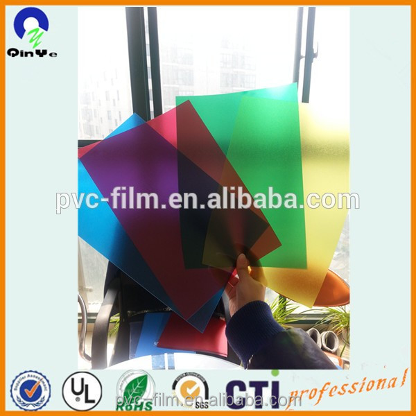 Thin Clear Plastic Sheet Extrusion PVC Sheets High Quality rigid PVC Sheet For Cards