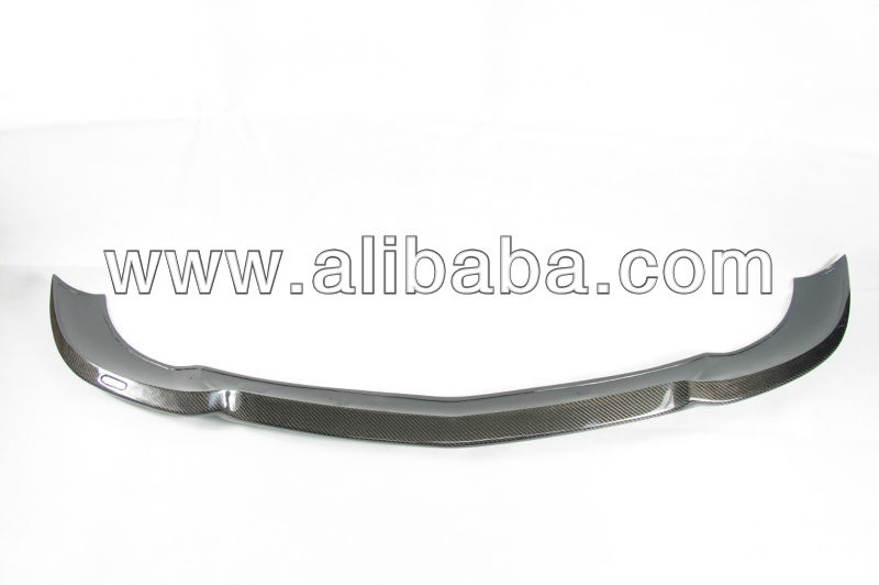 For Mercedes Benz W204 C300 Carlsson Style Carbon Fiber Front Lip