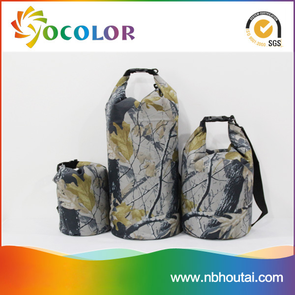 New Design Military Pattern waterproof dry bag hiking picnicing duffle outdoor pack