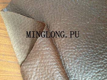 Pu leather leather faux leather pu suede bonded with t c for What is faux leather to real leather