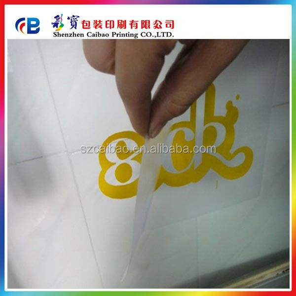 letter sticker cutting letter transfer label