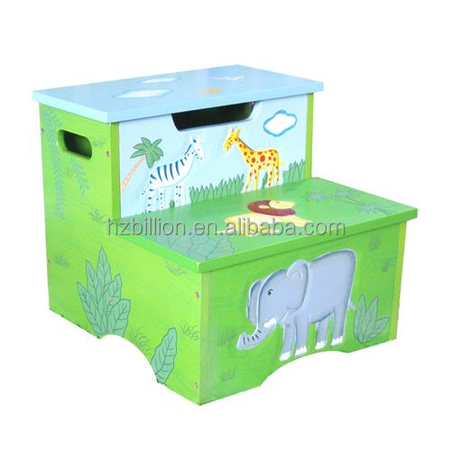 Cute and Nice Kids wooden Toddler Safari Animal step stool with storage wooden Kids Furniture  sc 1 st  Alibaba & Cute And Nice Kids Wooden Toddler Safari Animal Step Stool With ... islam-shia.org
