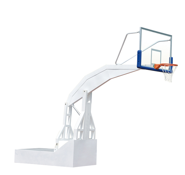 Indoor portable basketball stand electric hydraulic stand glass backboard