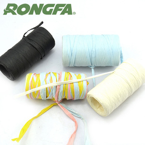 DIY Craft Colored Paper Raffia Yarn Crochet Kit