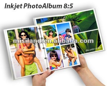 Diy impermeable imprimible inkjet photo book, Suministro con software libre
