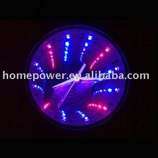 led horloge num rique 3d horloge murale horloge murale id. Black Bedroom Furniture Sets. Home Design Ideas