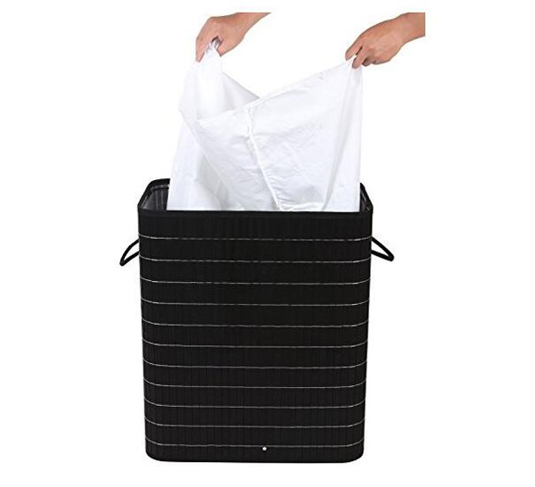 Wholesale Extra Large Bamboo Two Compartment Clothes