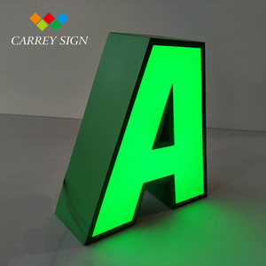 Latest product led raised letters and numbers signage with promotion sample offer