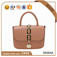 OEM brand ladies office handbags guangzhou handbag factory #95004A