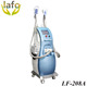LF-208A salon use cryolipolysis machine (fat freezing +lipo Laser +Cavi Lipo +Lipo RF )