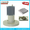 Single/twin output c band lnb 5150MHZ with cooling fin eurostar lnb