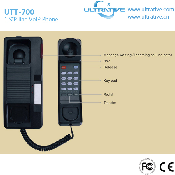 Multifunctional bathroom ip phone with low price