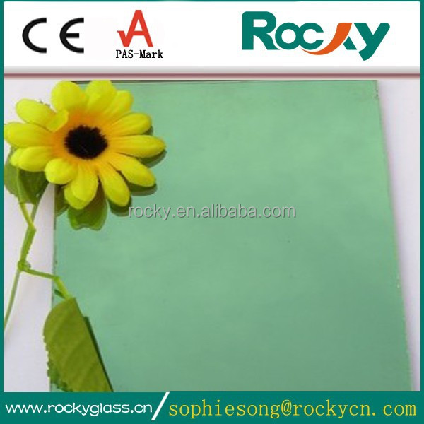 4mm-12mm high quality french green reflective glass