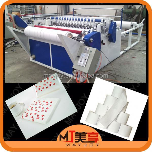 Excellet quality kitchen paper towel making machine from Mayjoy 0086 371-13343717658