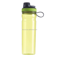 Wide Mouth Flip Leak Proof Top Lid Bpa Free Various Capacity Sports Water Bottle With Handle for Travel Yoga Running