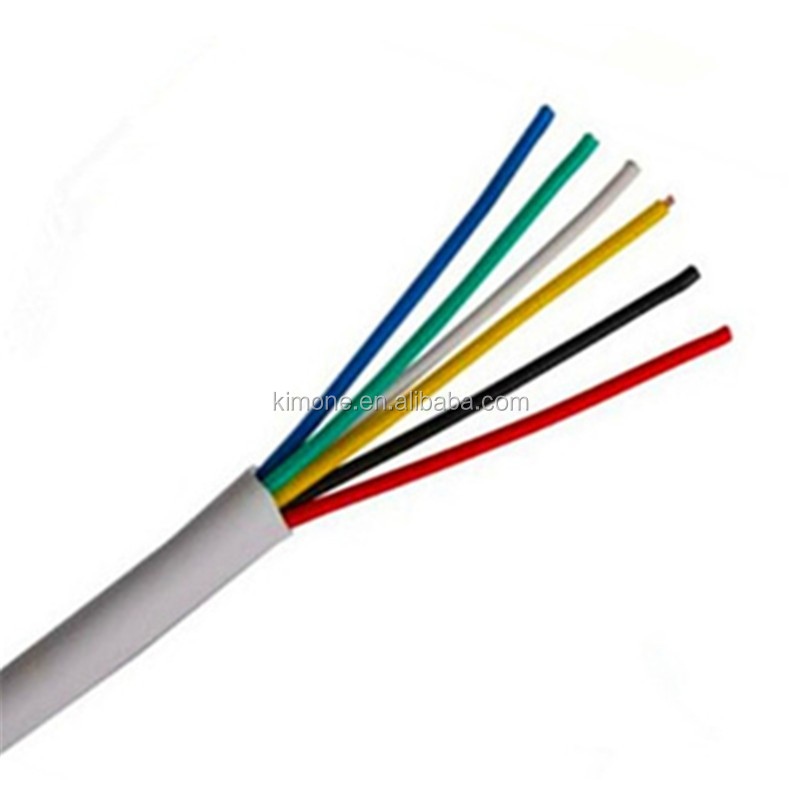 Thin Electrical Wire Electric Roll Fire Alarm Cable Un-shield ...