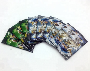 Custom Trading Card Printing Rare Effect Playing Cards Foil Packaging Booster Packing Pokemon cards