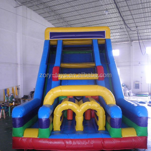 fresh inflatable slide, ZY-DS940 hot inflatable slide game