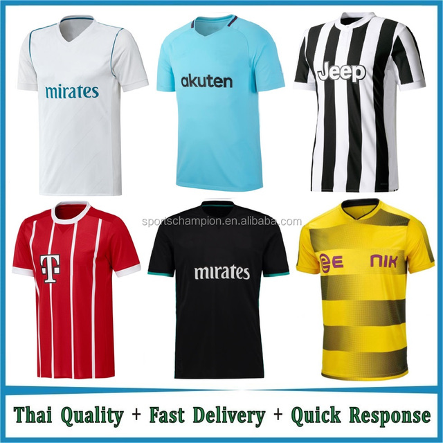 Cheap Sublimation Thai Quality 2017 2018 Jersey Football Soccer
