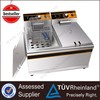 Kitchen Equipment Electric Fryer With Double Basket Suitable For Cooking Chicken Fish and Chips