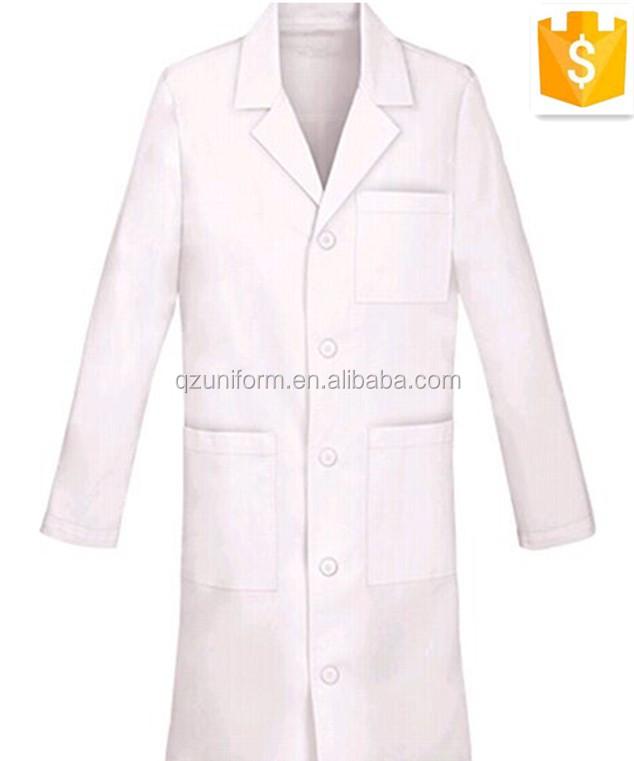 100% Cotton White Cool Designer Doctor Coat Uniform/long Sleeve High ...