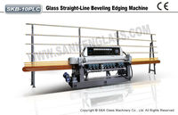 PLC System Mirror Glass Edge Polishing Machines