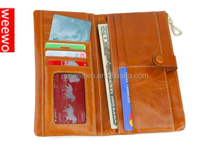 Women Rfid Blocking Wallet Trifold Ladies Luxury Leather Clutch ...