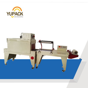 semi-automatic L-Sealer shrink wrapping machine