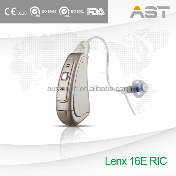 New Updated Hearing Aid RIC with New Sound Tube