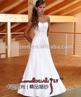 EB8226-3 Delicate hand beaded Wedding dress lace beading wedding gown
