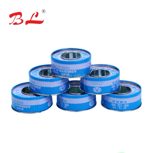 Surgical Zinc oxide plaster with metal tin cover