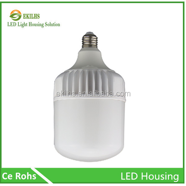 Modern Pear white color eki led light parts 25w e27 bulb light body for household