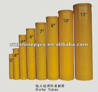 4 inch fireworks mortar tubes for christmas pyrotechnics