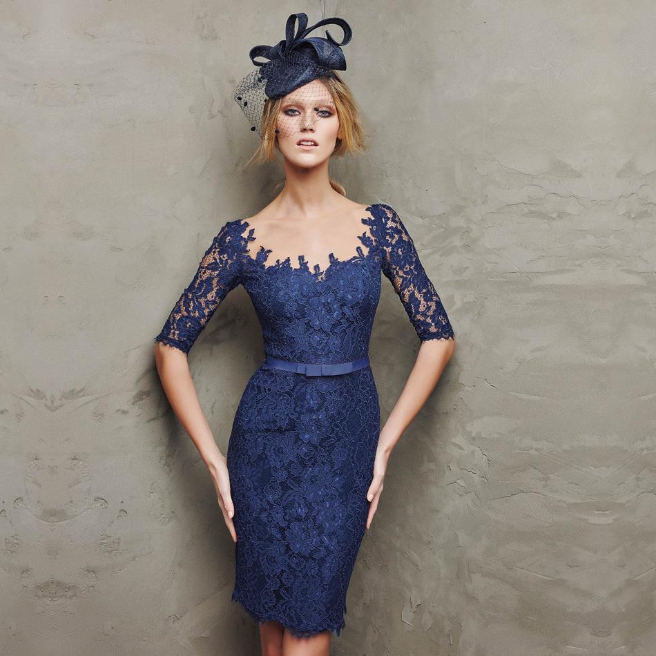 08a76cdc9 vestido azul wish