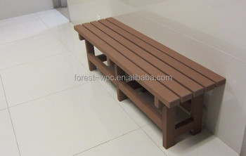 600x400x450mm Wooden Slats For Bench Replacement Wood Strengthen Bed Frame Wpc Shower Room