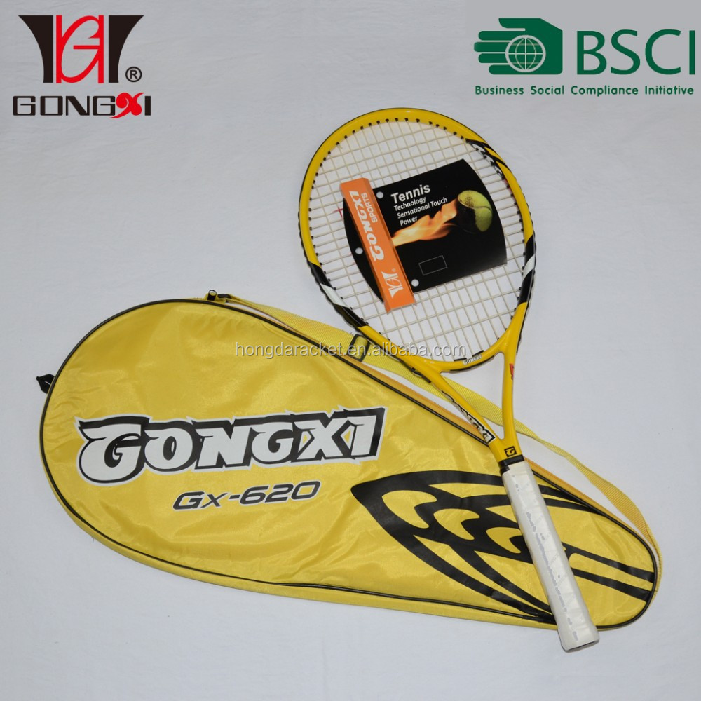 New Frame Carbon & Aluminium one piece tennis racket OEM