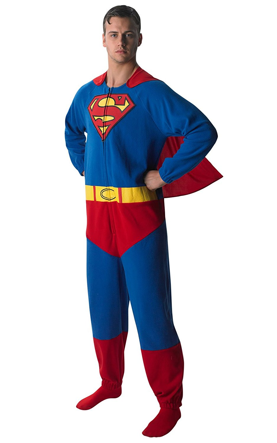 5533b8a0e430 Get Quotations · Small Mens Superman Onesie Costume