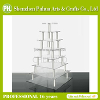 Trade Assurance High-end 7-Tire Acrylic Cookie/Cupcake/Dessert Display Stand For Sale