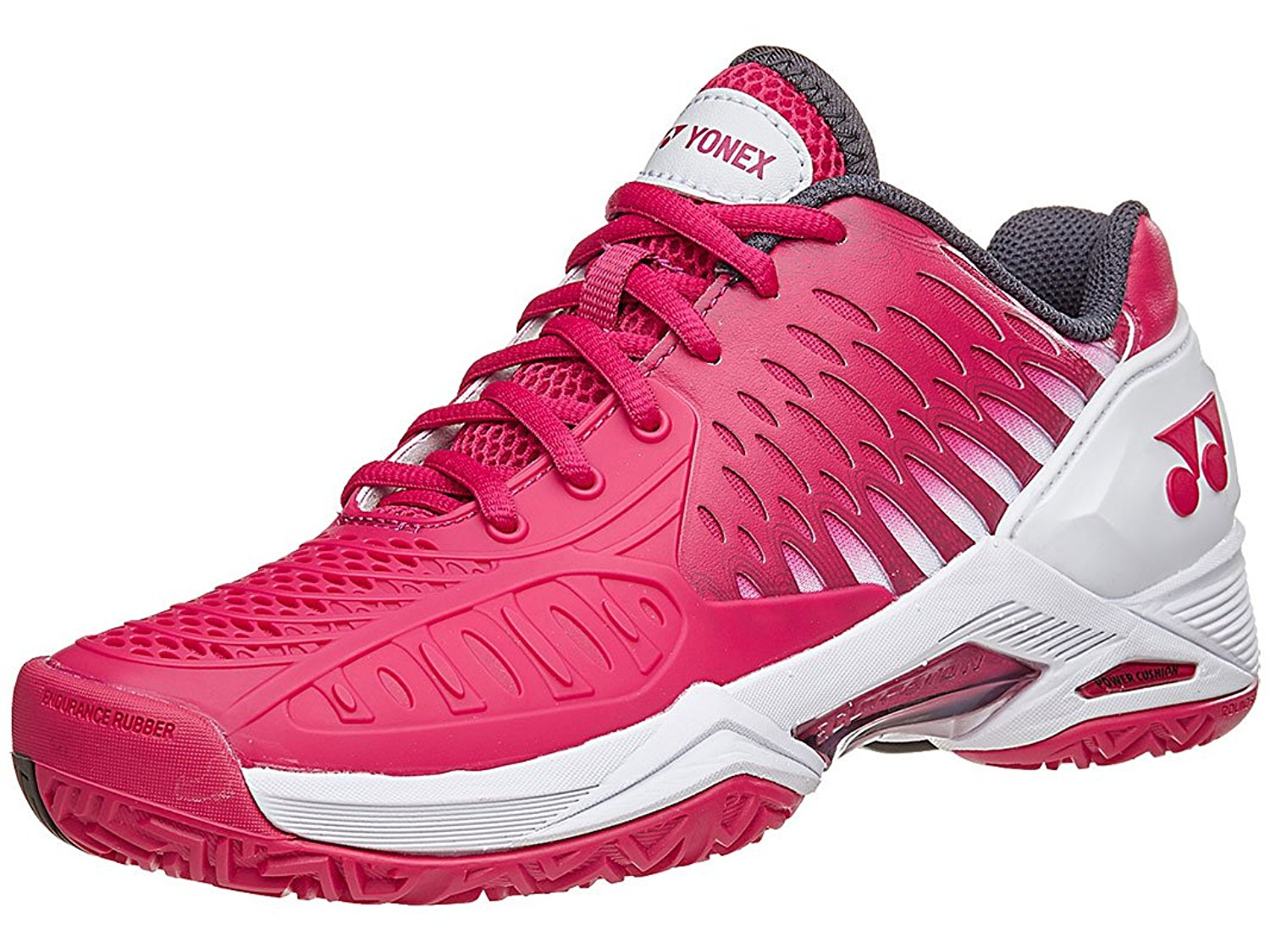 Yonex Power Cushion Eclipsion All Court Women's Tennis Shoe, Dark Pink