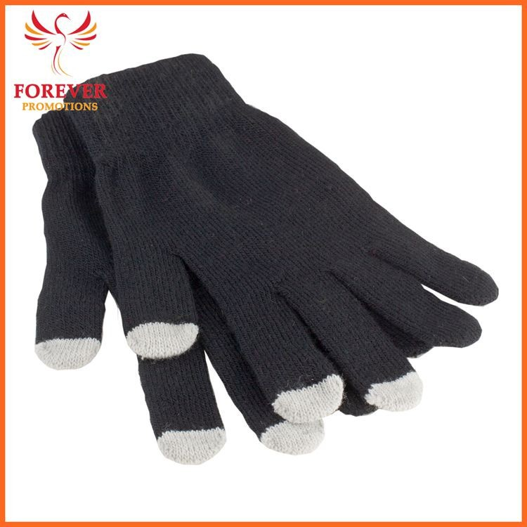 Promo Smart Phone Touch Screen Gloves in Pouch