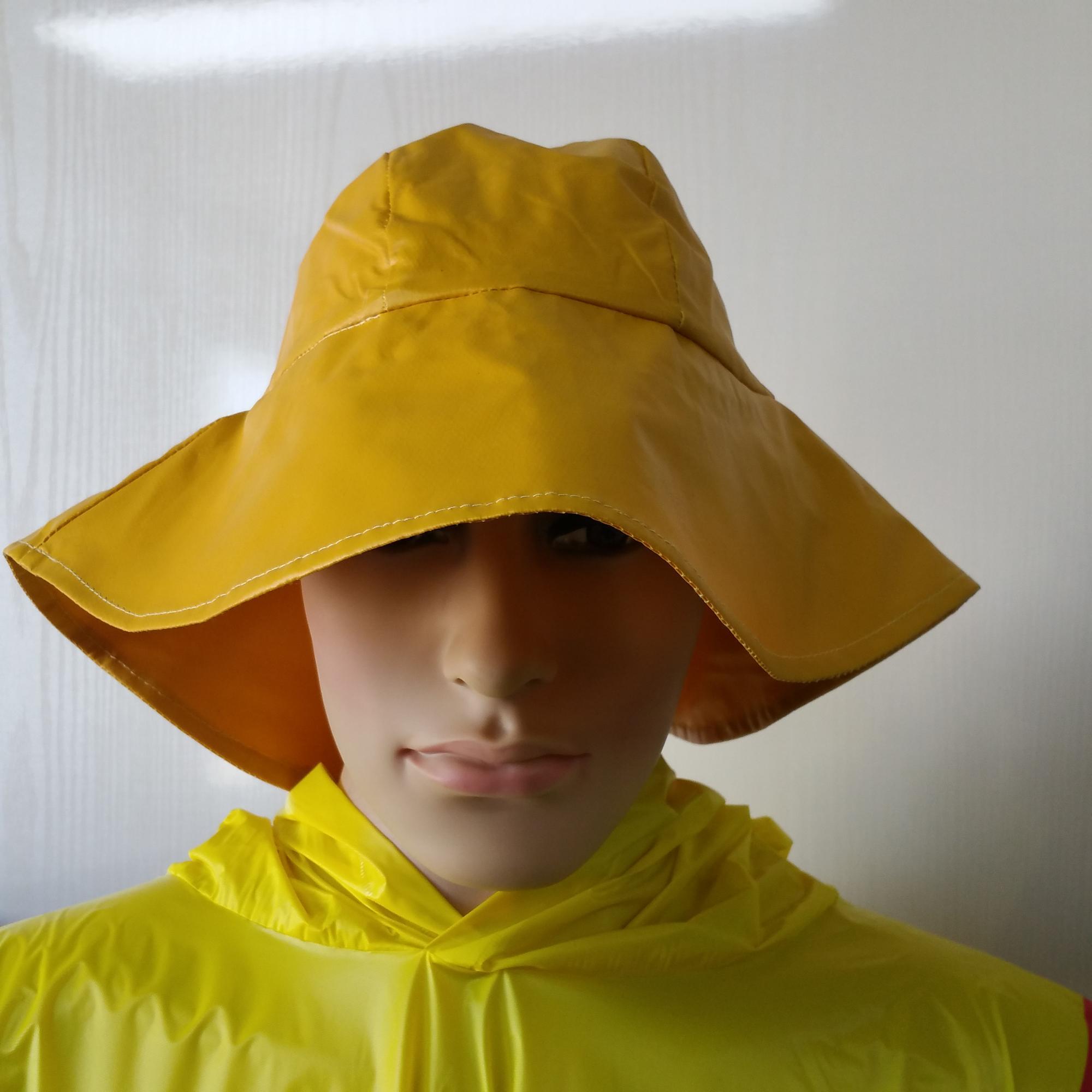 New Fashional Fisherman Waterproof Pvc polyester Rain Hat - Buy ... a1c195d84d4