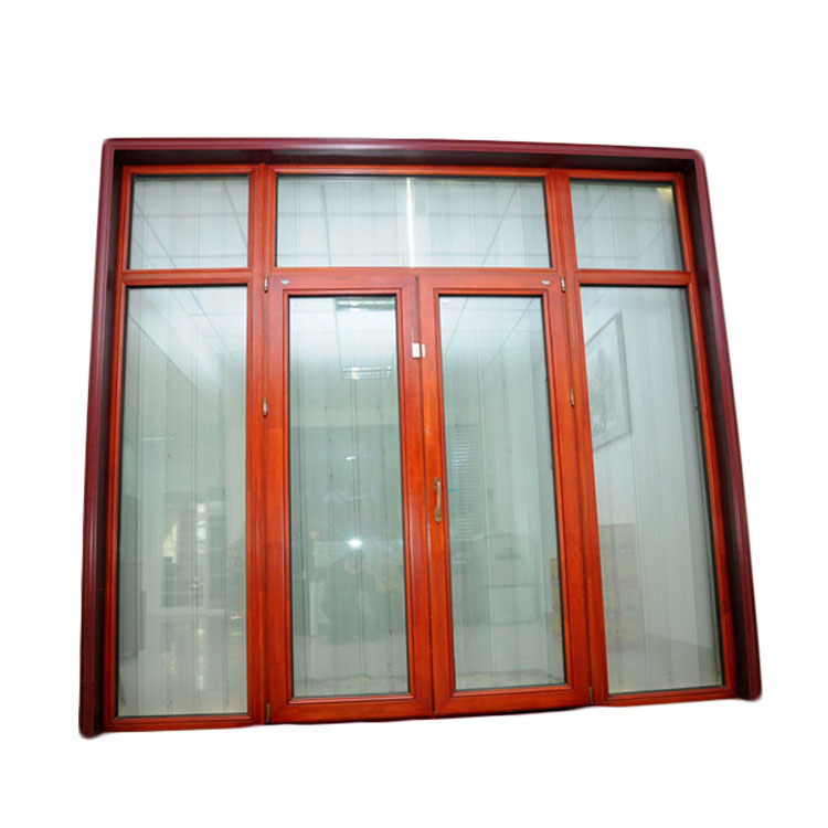 European Standard Exterior Grid Double Swing French Doors