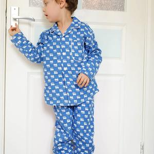 d927ae5f01 kids pajama sets boys Cartoon children cotton Casual Family sleepwear  children s pajamas cute pajamas