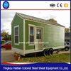professional high quality container house with wheels