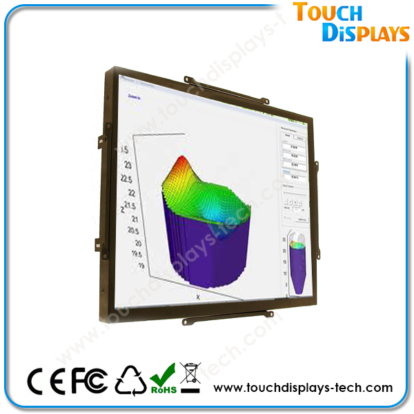 17 widescreen lcd monitor for Kiosk with Bezel OR without Bezel